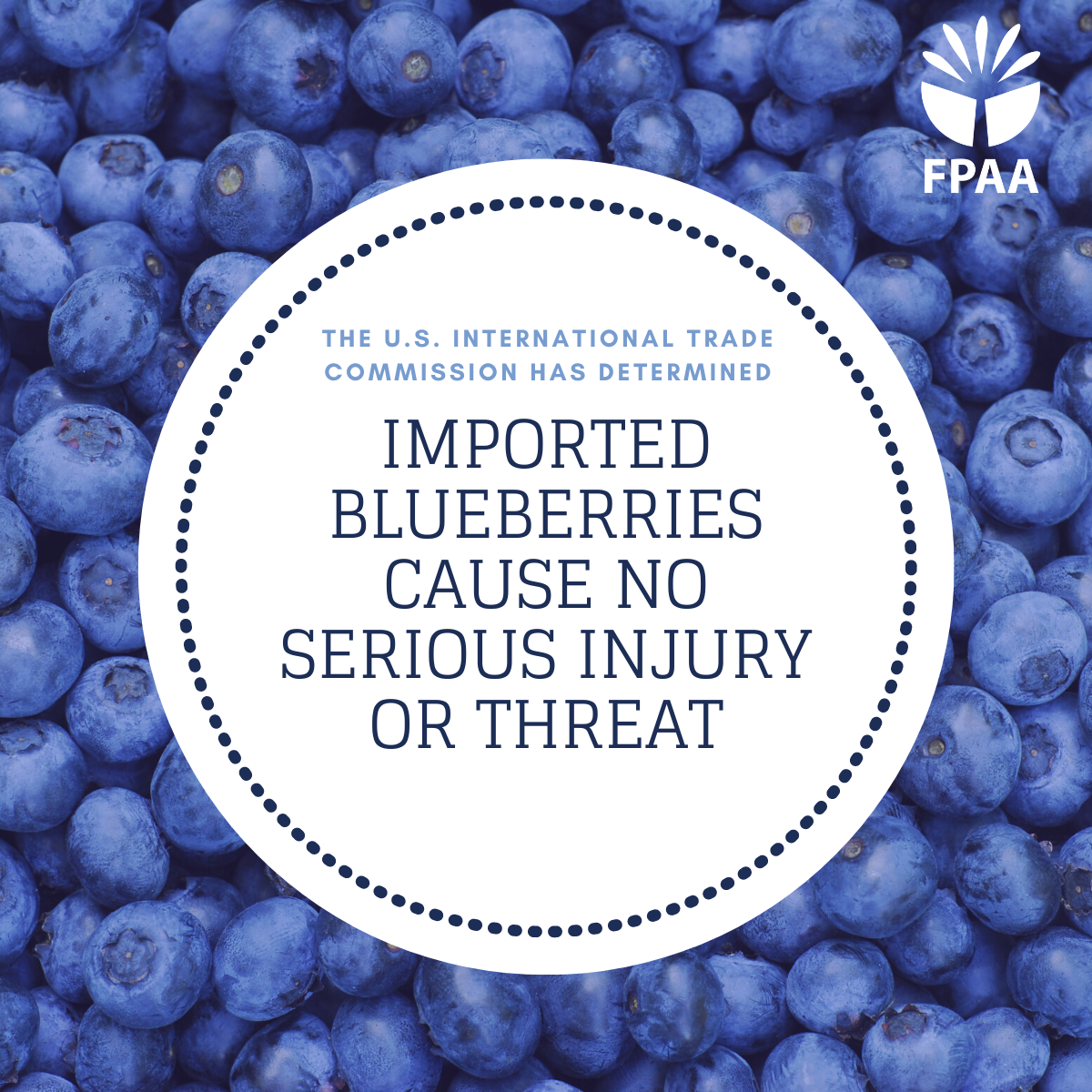 ITC Blueberry Determination Helps USMCA Move Forward